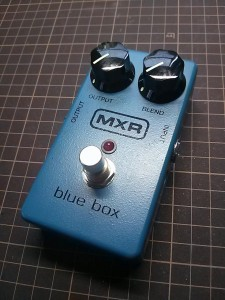 MXR Blue Box C11 + True Bypass MOD