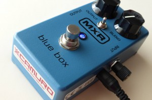 MXR Blue Box modified by Camuro