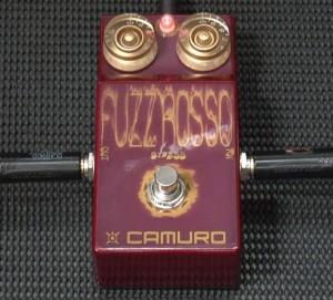 Camuro Fuzz Rossoの凸型レンズカバー